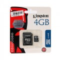 Memory MiCro SD4GB Kingston