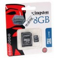 Memory MiCro SD8GB Kingston
