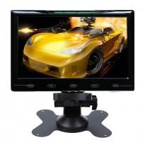 7 Inch Ultra Thin 16:9 HD 800*480 TFT LCD AV VGA HDMI Remote control
