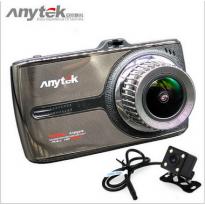 กล้องติดรถยนต์ Anytek G66 กล้องหน้า-หลัง จอทัชสกรีน Chipset Novatek 96655+Sensor Sony IMX323