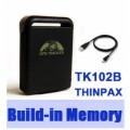 GPS Tracker TK102B + สายพ่วงในรถ